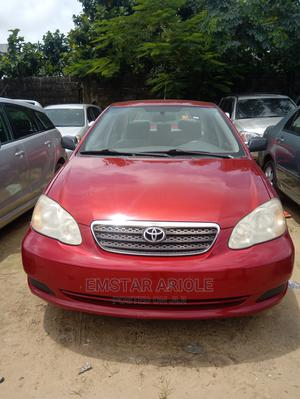 Toyota Corolla 2007 CE Red | Cars for sale in Lagos State, Amuwo-Odofin