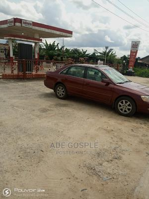 Toyota Avalon 2003 XLS W/ Bucket Seats Red | Cars for sale in Rivers State, Ikwerre