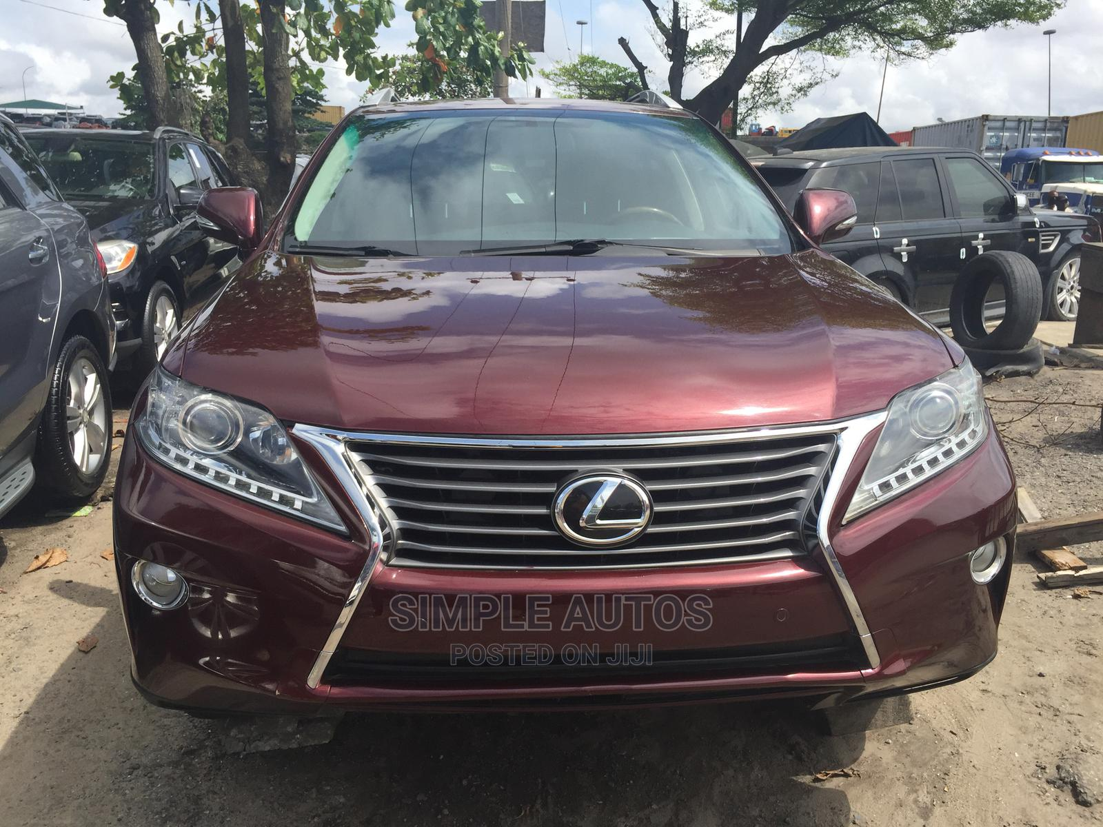 Lexus RX 2014 350 AWD Red   Cars for sale in Apapa, Lagos State, Nigeria