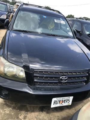 Toyota Highlander 2003 Limited V6 AWD Black | Cars for sale in Lagos State, Yaba