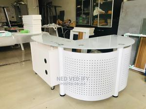 White Executive Office Table 1.4mt | Furniture for sale in Lagos State, Amuwo-Odofin