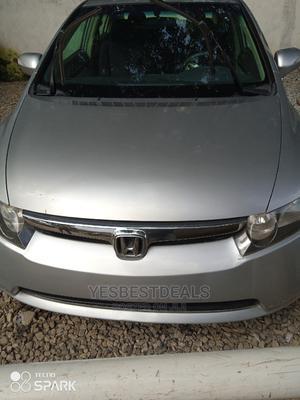 Honda Civic 2008 1.8i-Vtec EXi Automatic Silver | Cars for sale in Abuja (FCT) State, Garki 2