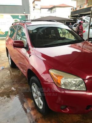 Toyota RAV4 2007 Red   Cars for sale in Lagos State, Ojodu