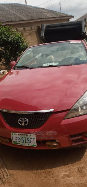 Toyota Solara 2008 3.3 Convertible Red | Cars for sale in Ogun State, Ado-Odo/Ota