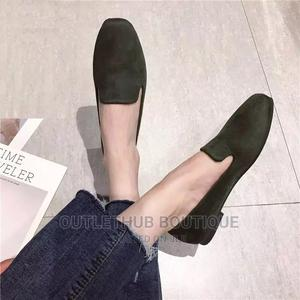 Suede Loafers for Women Flat Shoe-Black | Shoes for sale in Lagos State, Ikorodu