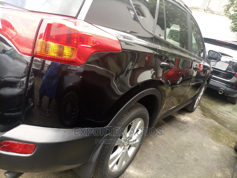 Toyota RAV4 2015 Black   Cars for sale in Ikeja, Lagos State, Nigeria