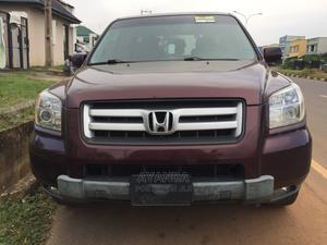 Honda Pilot 2008 EX 4x4 (3.5L 6cyl 5A) Red | Cars for sale in Kwara State, Ilorin East