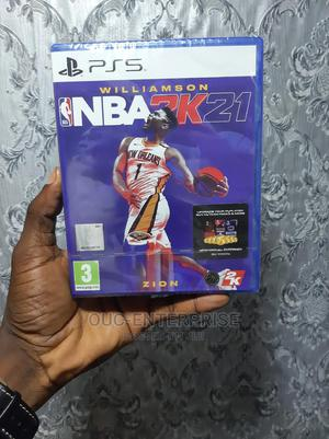 NBA 2K21 for Playstation 5   Video Games for sale in Lagos State, Ikeja