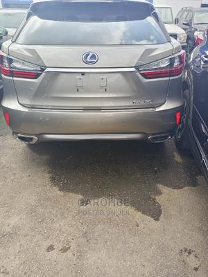 Lexus RX 2018 450hL Luxury AWD Gold   Cars for sale in Lagos State, Ikeja