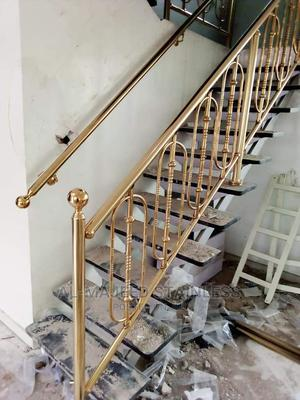 SUS 304 Gold Hand Rails | Manufacturing Services for sale in Lagos State, Surulere