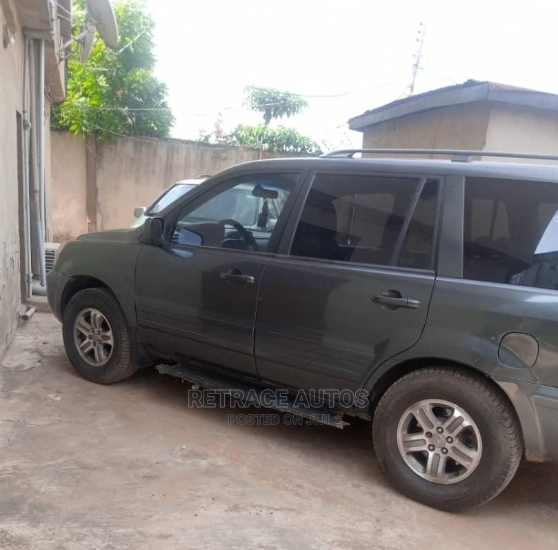 Honda Pilot 2004 Gray | Cars for sale in Ikeja, Lagos State, Nigeria