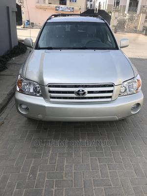 Toyota Highlander 2006 V6 Silver   Cars for sale in Lagos State, Isolo