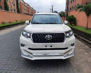 Toyota Land Cruiser Prado 2018 White | Cars for sale in Lagos State, Ikeja