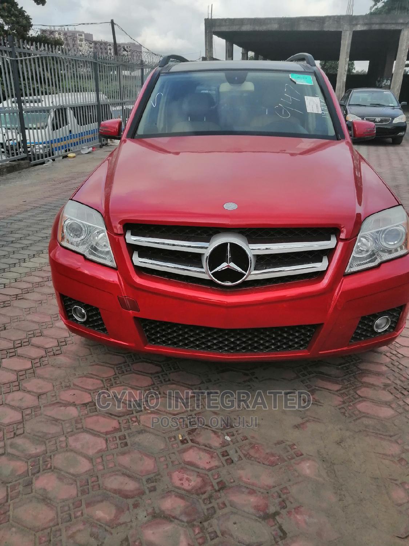 Mercedes-Benz GLK-Class 2011 350 Red