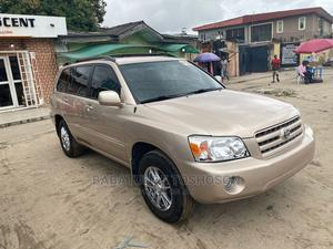 Toyota Highlander 2007 4x4 Gold | Cars for sale in Lagos State, Badagry