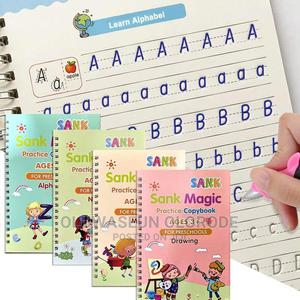 4in1 Reusable Calligraphy Sank Magic Practice Copy Book Gift | Babies & Kids Accessories for sale in Lagos State, Ogba