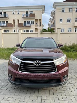 Toyota Highlander 2014 Burgandy   Cars for sale in Lagos State, Lekki
