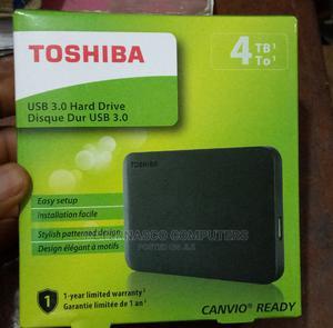 Toshiba 4tb External Hard Drive   Computer Hardware for sale in Lagos State, Lagos Island (Eko)
