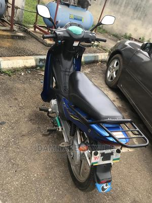 Haojue UD110 HJ110-6 2019 Blue | Motorcycles & Scooters for sale in Oyo State, Akinyele