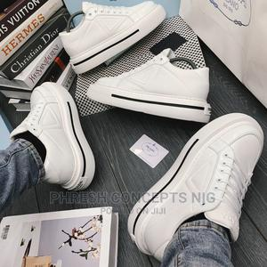 Prada Macro Leather Sneaks   Shoes for sale in Lagos State, Ojo