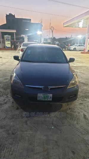 Honda Accord 2007 Sedan EX-L V-6 Automatic Gray | Cars for sale in Lagos State, Ifako-Ijaiye