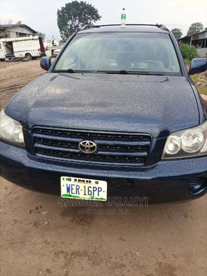 Toyota Highlander 2003 Limited V6 FWD Blue   Cars for sale in Imo State, Owerri