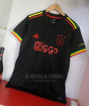 Ajax Official 21/22 Away Black Jersey   Clothing for sale in Lagos State, Surulere