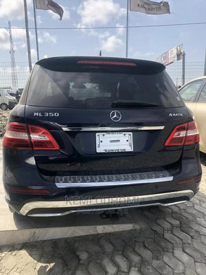 Mercedes-Benz M Class 2012 ML 350 4Matic Black   Cars for sale in Lagos State, Ajah