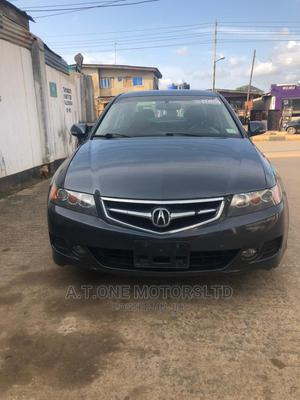 Acura TSX 2007 Automatic Blue   Cars for sale in Lagos State, Ejigbo