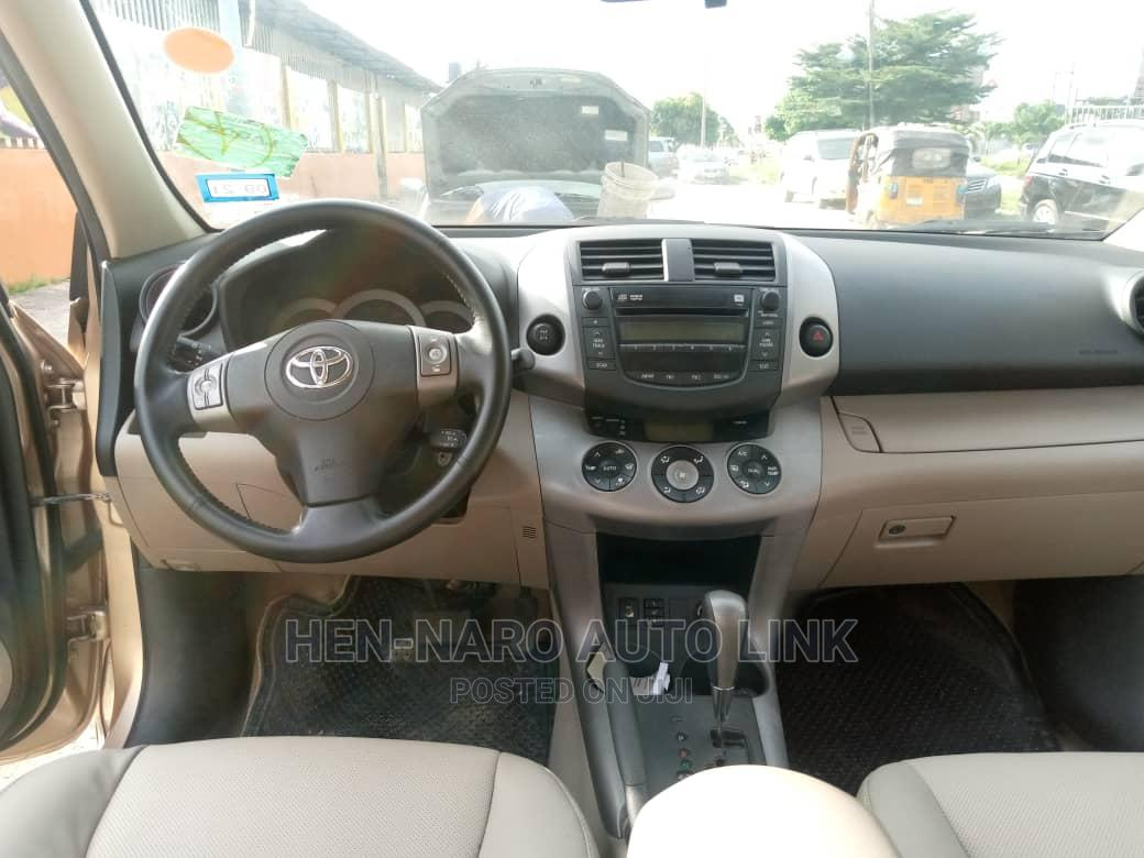Toyota RAV4 2008 Gold   Cars for sale in Amuwo-Odofin, Lagos State, Nigeria