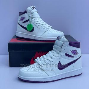 Air Jordan 1 Hi OG Court Purple Original   Shoes for sale in Lagos State, Surulere