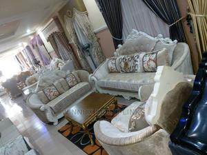 7 Seaters Imported Royal Sofa   Furniture for sale in Lagos State, Ibeju