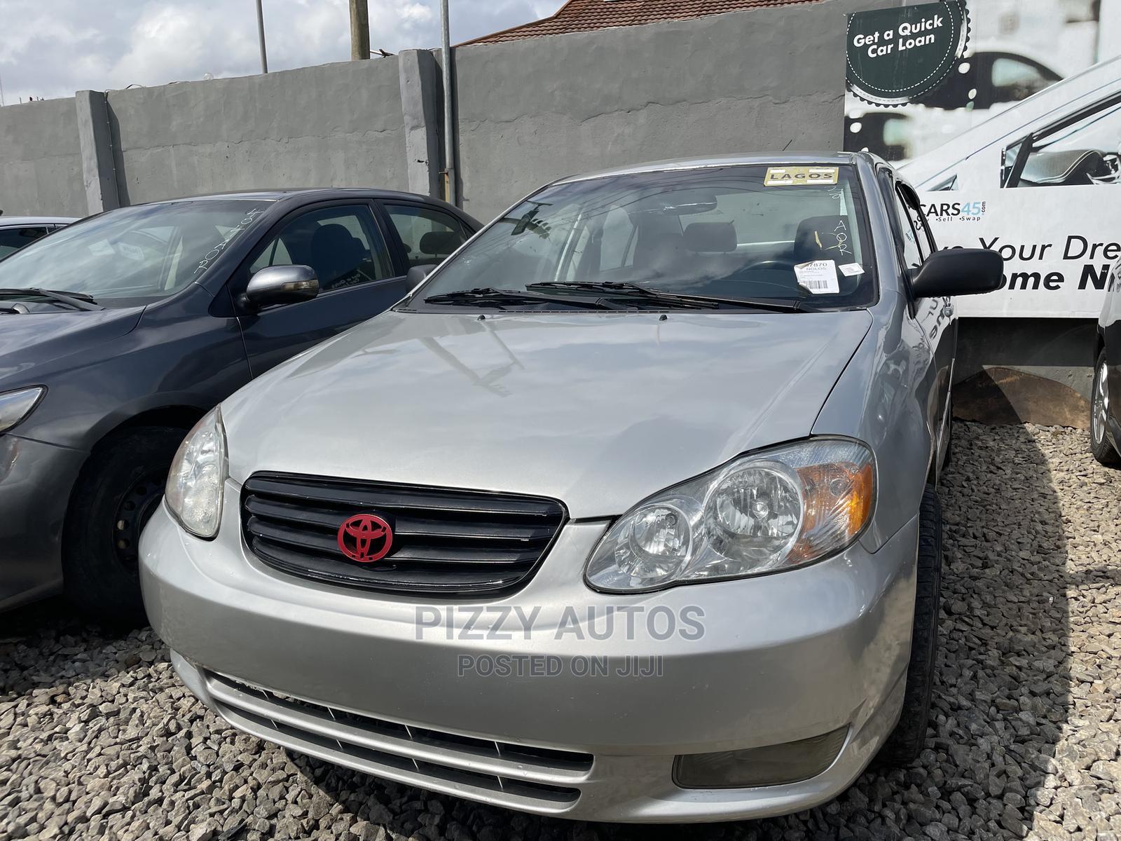 Toyota Corolla 2003 Sedan Automatic Silver   Cars for sale in Ogba, Lagos State, Nigeria