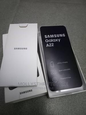 New Samsung Galaxy A22 128 GB Black | Mobile Phones for sale in Lagos State, Amuwo-Odofin