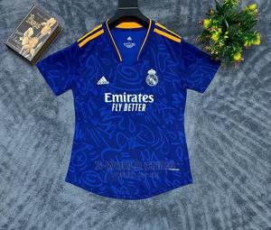 Real Madrid Official 21/22 Female Away Blue Jersey | Clothing for sale in Lagos State, Surulere