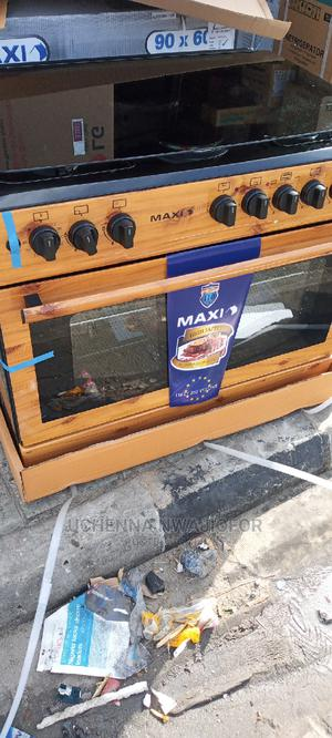 Maxi Standing Gas Cooker Wood | Kitchen Appliances for sale in Delta State, Warri