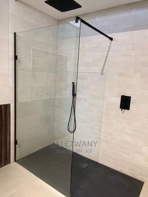 Shower Glass, Shower Cubicle, Black Shower Accessories | Plumbing & Water Supply for sale in Abuja (FCT) State, Jabi