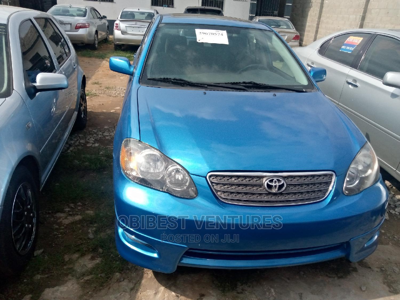 Toyota Corolla 2007 S Blue