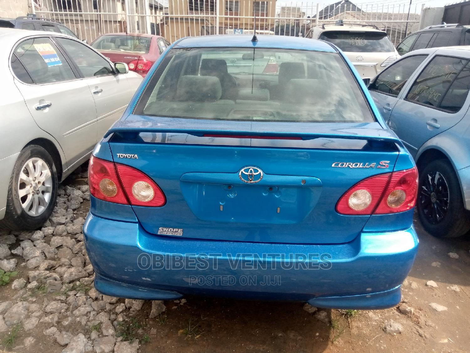 Toyota Corolla 2007 S Blue   Cars for sale in Isolo, Lagos State, Nigeria