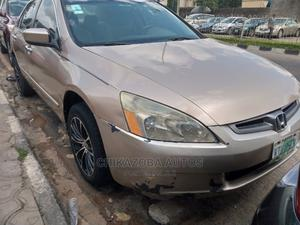 Honda Accord 2004 2.4 Type S Automatic Gold | Cars for sale in Lagos State, Ikeja