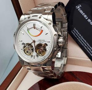 High Quality TONINO LAMBORGHINI Mechanical Silver for Men   Watches for sale in Abuja (FCT) State, Asokoro