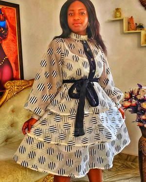 Dina 3-Tier Flare Dress | Clothing for sale in Lagos State, Surulere