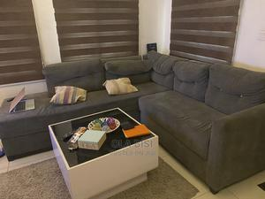 L-Shaped 7 Seater With Glass Center Table   Furniture for sale in Lagos State, Agboyi/Ketu