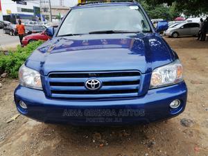 Toyota Highlander 2004 V6 AWD Blue   Cars for sale in Lagos State, Magodo