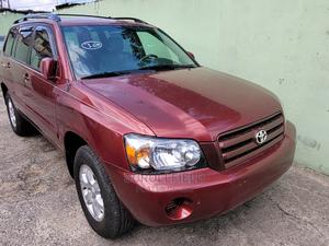 Toyota Highlander 2007 Red | Cars for sale in Lagos State, Surulere