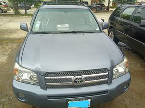 Toyota Highlander 2005 Limited V6 Gray | Cars for sale in Lagos State, Yaba