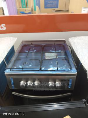 MAXI 4b Inox Silver Standing Gas Cooker | Kitchen Appliances for sale in Lagos State, Agege