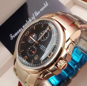 High Quality TONINO LAMBORGHINI Gold Chain Blackdial for Men   Watches for sale in Abuja (FCT) State, Asokoro