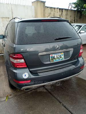 Mercedes-Benz M Class 2010 ML 350 4Matic Gray | Cars for sale in Lagos State, Ikeja