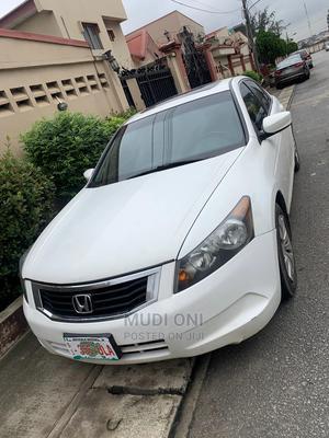 Honda Accord 2008 2.4 EX White | Cars for sale in Lagos State, Ikeja